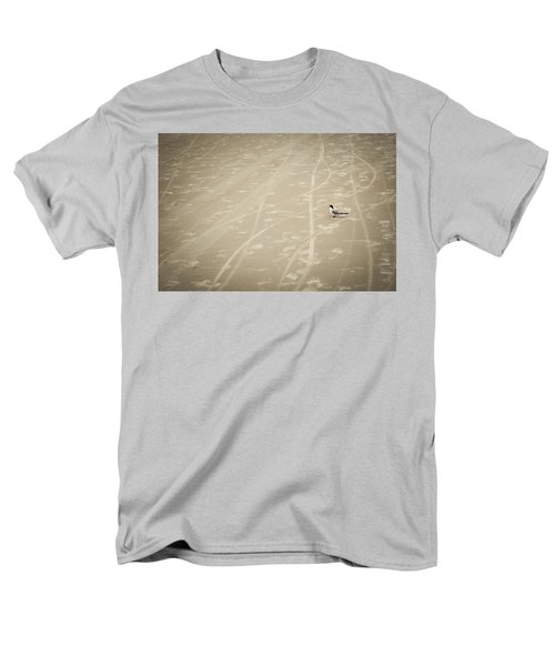 Men's T-Shirt  (Regular Fit) featuring the photograph Waiting My Turn by Carolyn Marshall