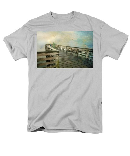Walk On By Men's T-Shirt  (Regular Fit) by Diana Angstadt