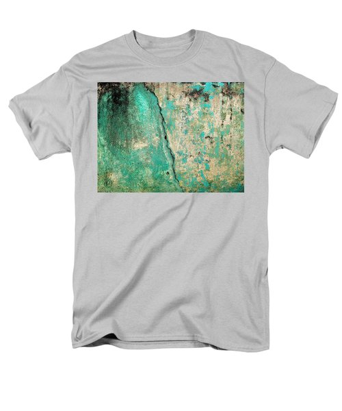 Wall Abstract 97 Men's T-Shirt  (Regular Fit) by Maria Huntley