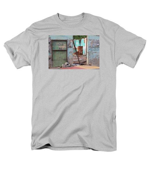 Wall, Door, Open Space In Kochi Men's T-Shirt  (Regular Fit) by Jennifer Mazzucco