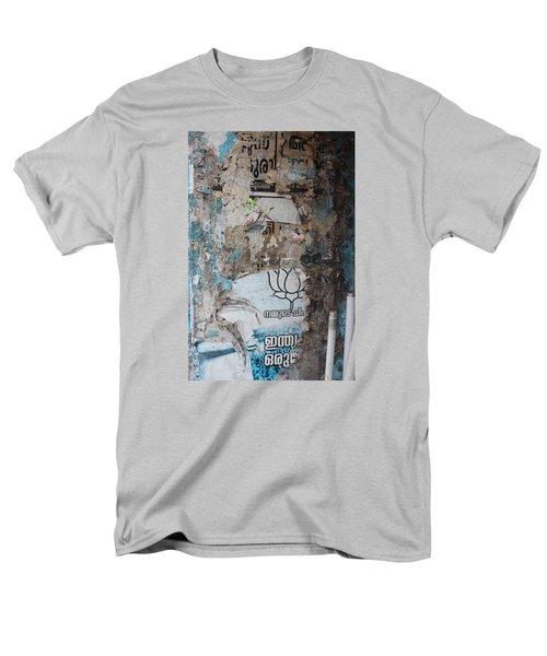 Wall In Kochi Men's T-Shirt  (Regular Fit) by Jennifer Mazzucco