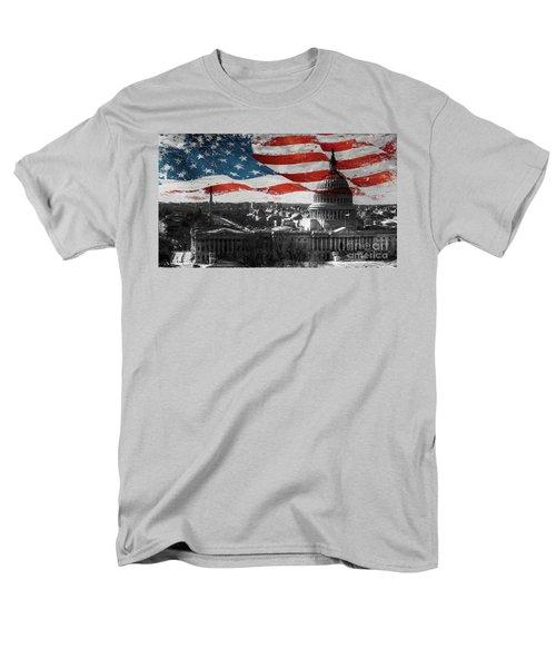 Washington Dc 56t Men's T-Shirt  (Regular Fit) by Gull G