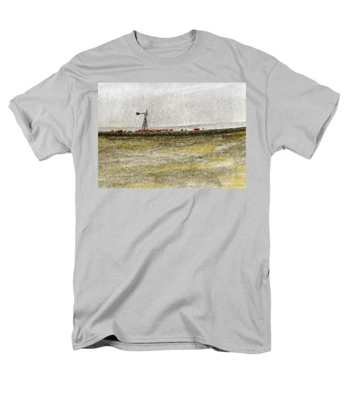 Water, Ranching, And Cattle Men's T-Shirt  (Regular Fit) by R Kyllo
