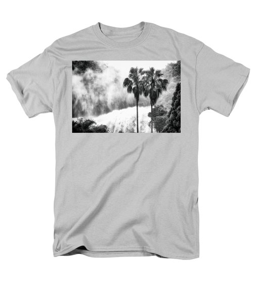 Men's T-Shirt  (Regular Fit) featuring the photograph Waterfall Sounds by Hayato Matsumoto