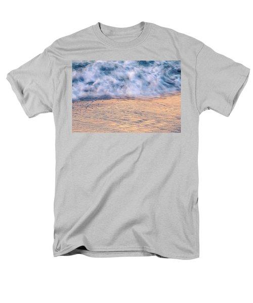 Men's T-Shirt  (Regular Fit) featuring the photograph Wave Abstract 3, Hoi An, 2014 by Hitendra SINKAR