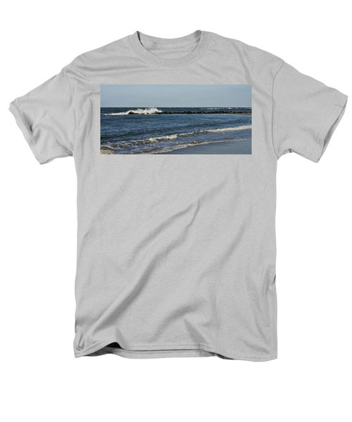 Men's T-Shirt  (Regular Fit) featuring the photograph Waves by Sandy Keeton