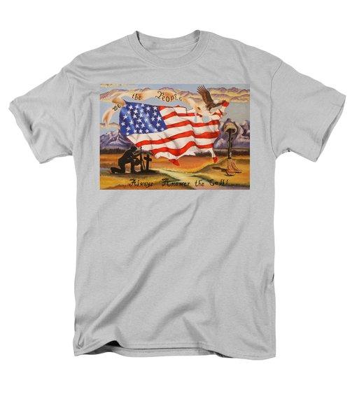 We The People Men's T-Shirt  (Regular Fit)