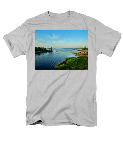 Weeks Bay Going Fishing Men's T-Shirt  (Regular Fit) by Michael Thomas