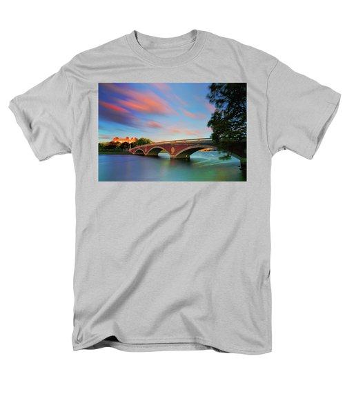 Weeks' Bridge Men's T-Shirt  (Regular Fit) by Rick Berk