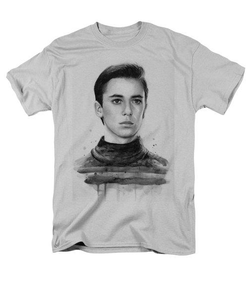 Wesley Crusher Star Trek Fan Art Men's T-Shirt  (Regular Fit)
