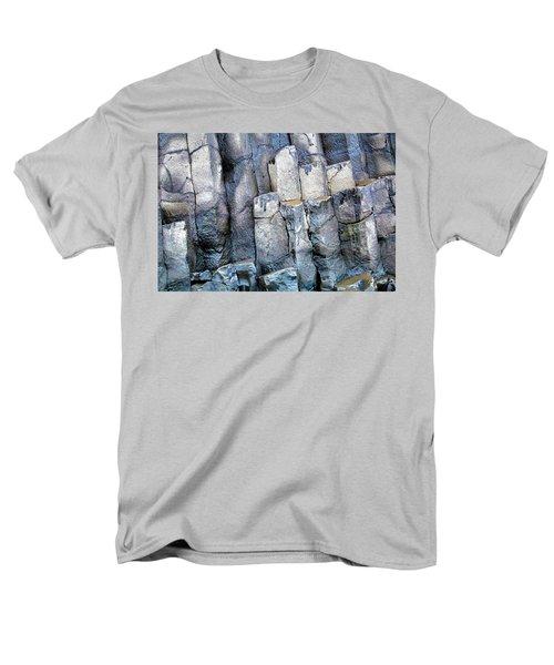 Men's T-Shirt  (Regular Fit) featuring the photograph Wet Rocks 2 by Hitendra SINKAR