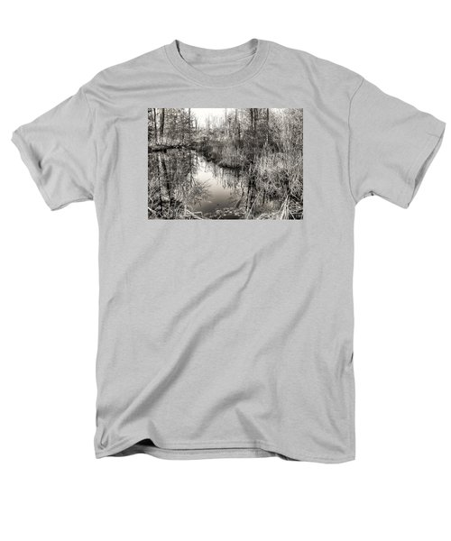 Men's T-Shirt  (Regular Fit) featuring the photograph Wetland Essence by Betsy Zimmerli