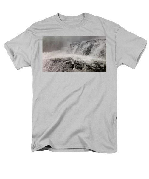 Men's T-Shirt  (Regular Fit) featuring the photograph White Water by Raymond Earley
