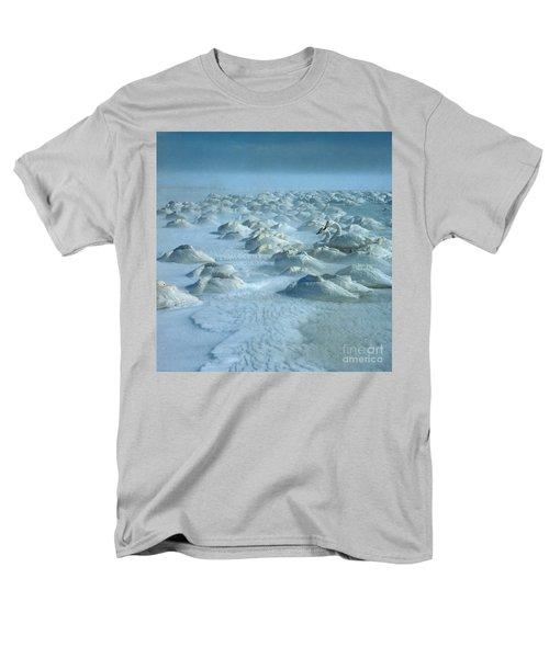 Whooper Swans In Snow Men's T-Shirt  (Regular Fit)