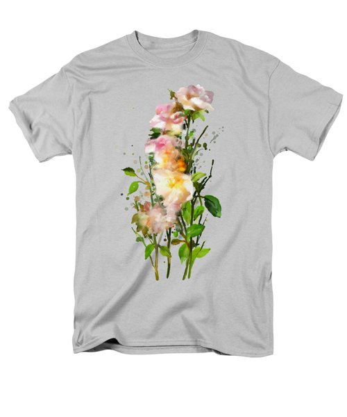 Wild Roses Men's T-Shirt  (Regular Fit) by Ivana Westin