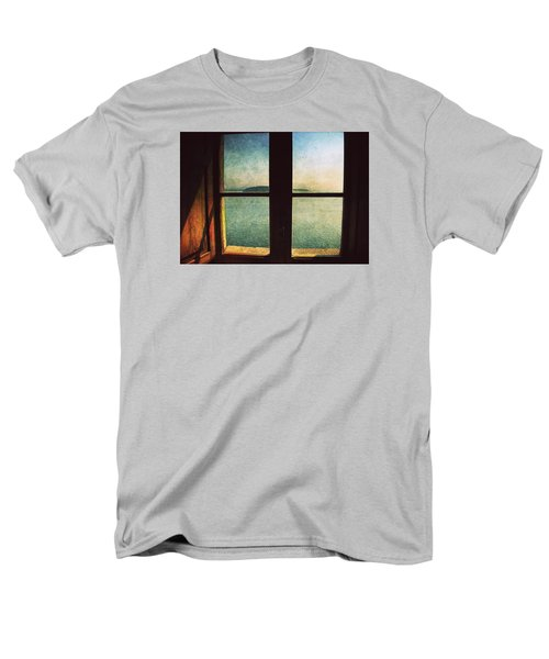 Window Overlooking The Sea Men's T-Shirt  (Regular Fit) by Vittorio Chiampan