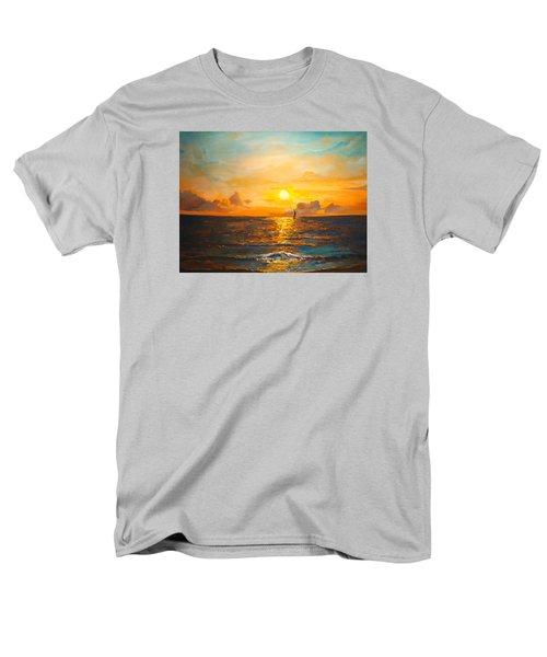 Windward Men's T-Shirt  (Regular Fit) by Alan Lakin