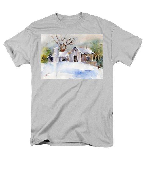 Winter Barn Men's T-Shirt  (Regular Fit) by P Anthony Visco