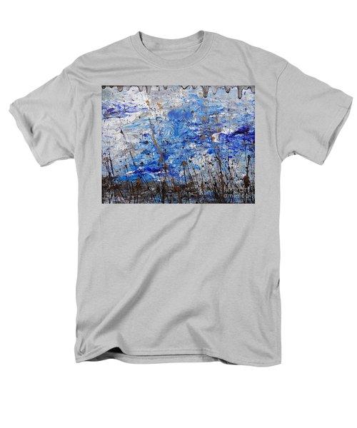 Men's T-Shirt  (Regular Fit) featuring the painting Winter Crisp by Jacqueline Athmann