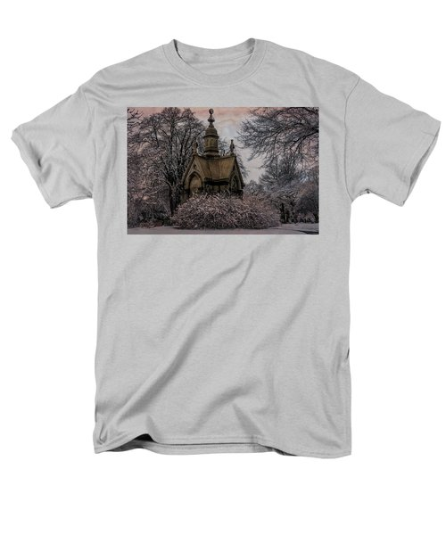 Men's T-Shirt  (Regular Fit) featuring the digital art Winter Gothik by Chris Lord