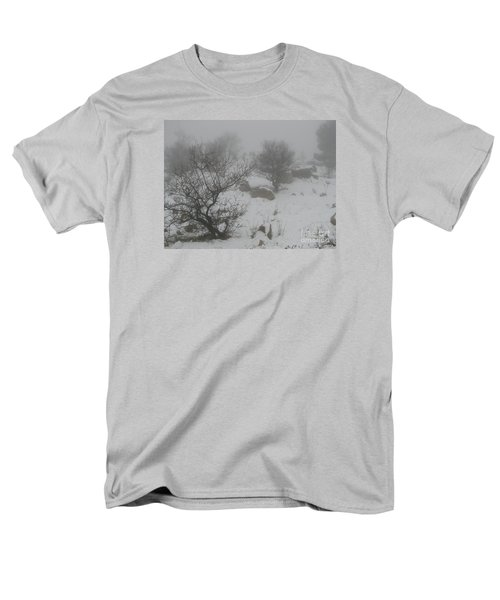 Winter In Israel Men's T-Shirt  (Regular Fit) by Annemeet Hasidi- van der Leij
