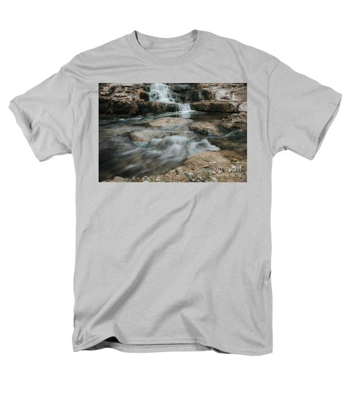 Winter Inthe Falls Men's T-Shirt  (Regular Fit) by Iris Greenwell