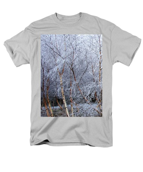 Winter Trees Men's T-Shirt  (Regular Fit) by Jacqi Elmslie