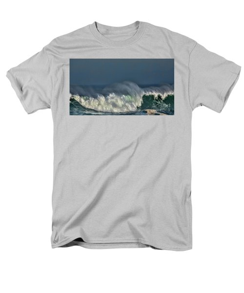 Winter Waves And Veil Men's T-Shirt  (Regular Fit) by Shirley Mangini