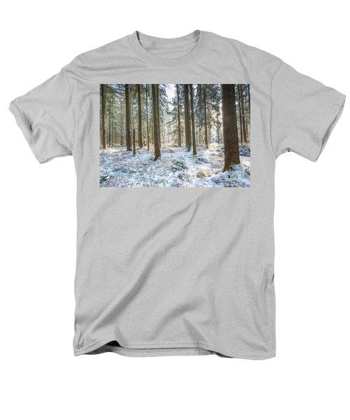 Men's T-Shirt  (Regular Fit) featuring the photograph Winter Wonderland by Hannes Cmarits
