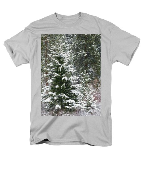 Men's T-Shirt  (Regular Fit) featuring the photograph Winter Woodland by Will Borden