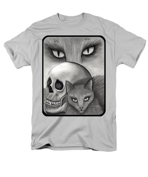 Witch's Cat Eyes Men's T-Shirt  (Regular Fit) by Carrie Hawks