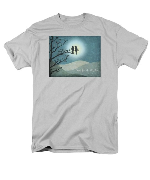 With You By My Side Landscape View Men's T-Shirt  (Regular Fit) by Christina Lihani