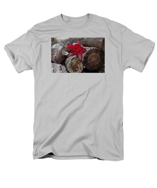 Woodpile Beauty Men's T-Shirt  (Regular Fit) by Adria Trail