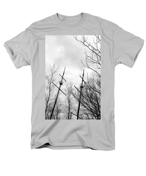 Men's T-Shirt  (Regular Fit) featuring the photograph Wrecked by Valentino Visentini