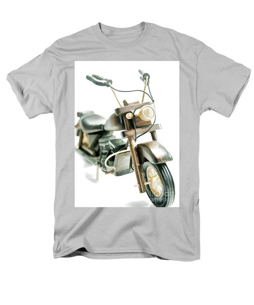 Yard Sale Wooden Toy Motorcycle Men's T-Shirt  (Regular Fit) by Wilma Birdwell