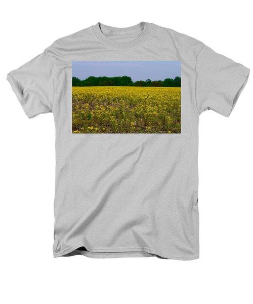 Yellow Field Men's T-Shirt  (Regular Fit) by Tim Good