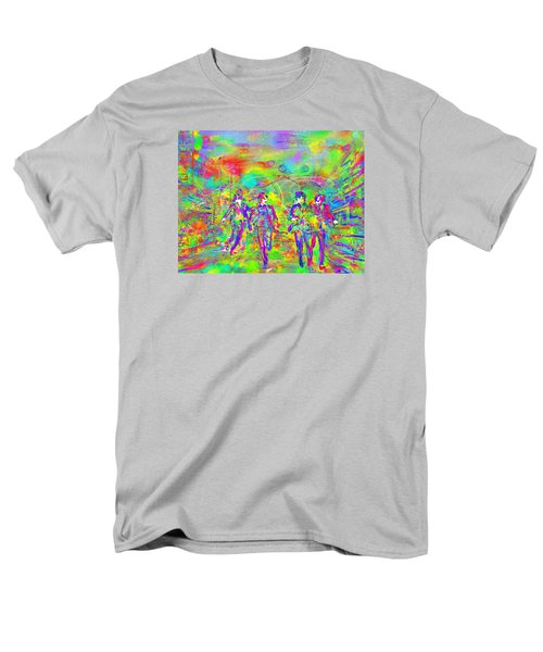 Yesterday Men's T-Shirt  (Regular Fit) by Dave Luebbert