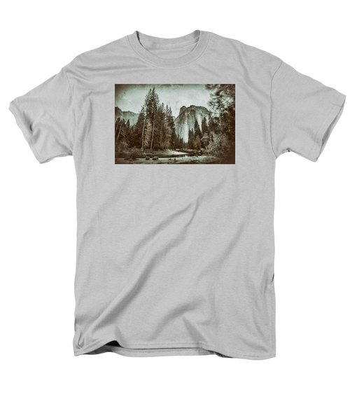 Yosemite National Park Men's T-Shirt  (Regular Fit) by James Bethanis