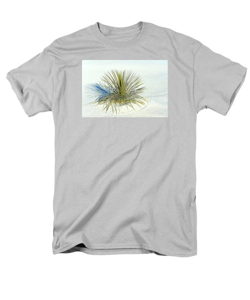 Yucca In White Sand Men's T-Shirt  (Regular Fit) by Jerry Cahill