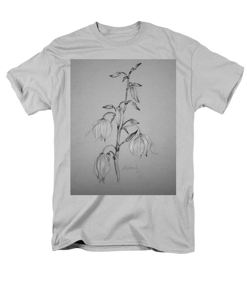 Men's T-Shirt  (Regular Fit) featuring the drawing Yucca by Marna Edwards Flavell