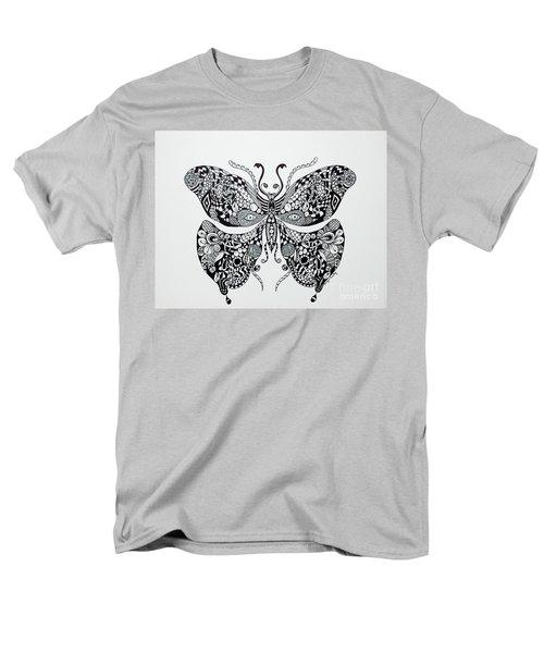 Zen Butterfly Men's T-Shirt  (Regular Fit)
