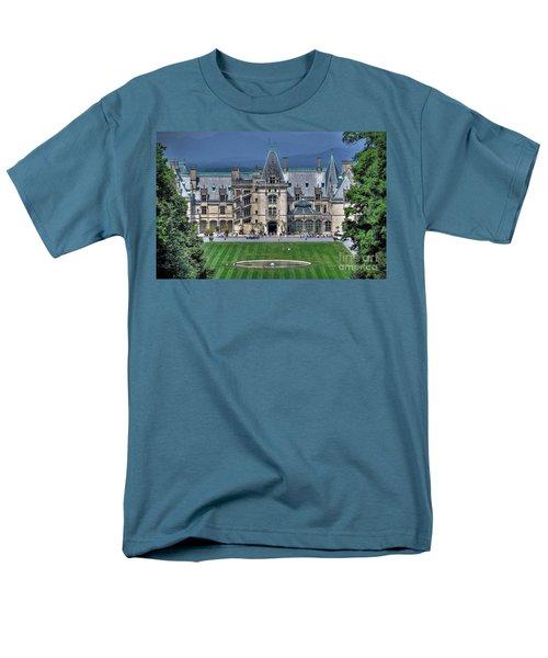 Biltmore House Men's T-Shirt  (Regular Fit) by Savannah Gibbs