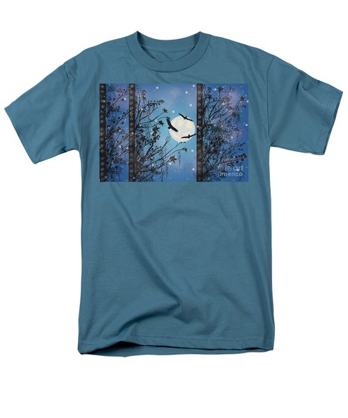 Men's T-Shirt  (Regular Fit) featuring the digital art Blue Winter by Kim Prowse