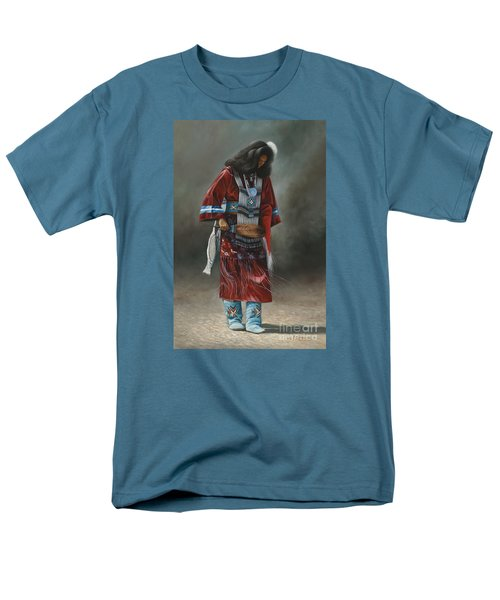 Ceremonial Red Men's T-Shirt  (Regular Fit)
