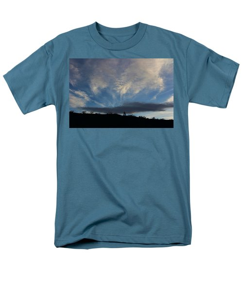 Men's T-Shirt  (Regular Fit) featuring the photograph Chase The Moonlight by Tammy Espino