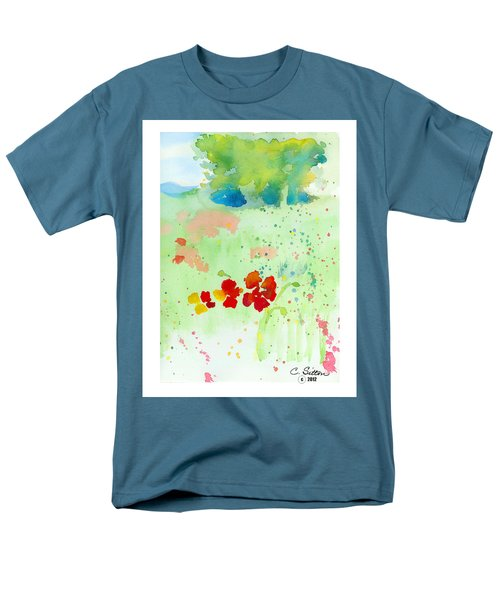 Field Of Flowers Men's T-Shirt  (Regular Fit) by C Sitton