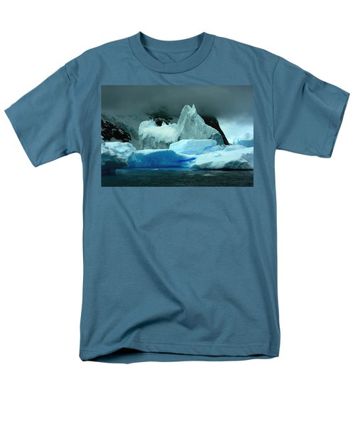 Men's T-Shirt  (Regular Fit) featuring the photograph Iceberg by Amanda Stadther