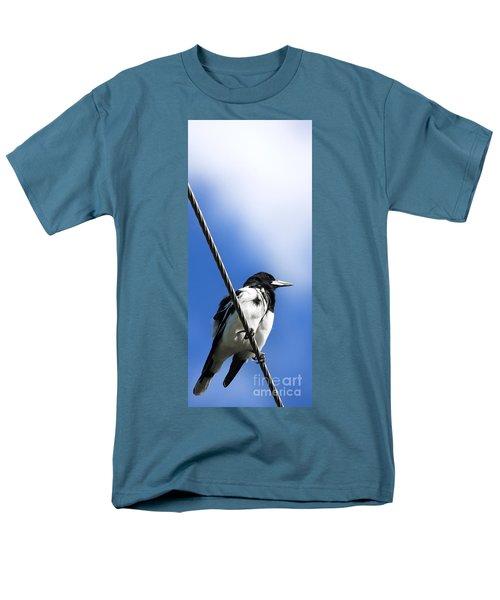 Magpie Up High Men's T-Shirt  (Regular Fit) by Jorgo Photography - Wall Art Gallery