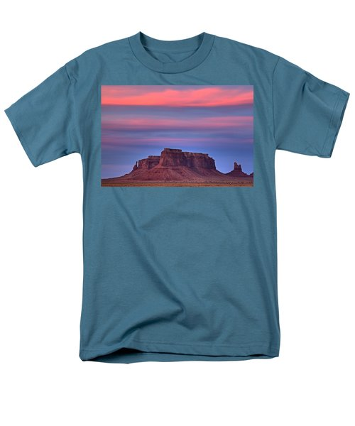 Monument Valley Sunset Men's T-Shirt  (Regular Fit) by Alan Vance Ley
