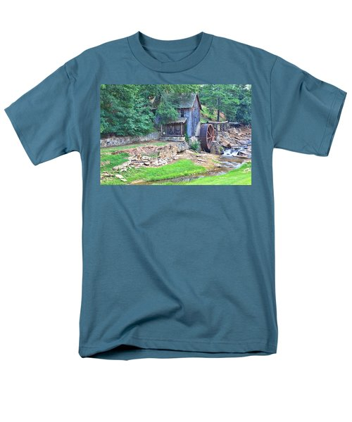 Sixes Mill On Dukes Creek Men's T-Shirt  (Regular Fit) by Gordon Elwell